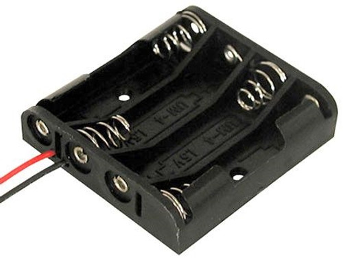 A.E. Corporation BH-341 Battery Holder for 4 AA Cells