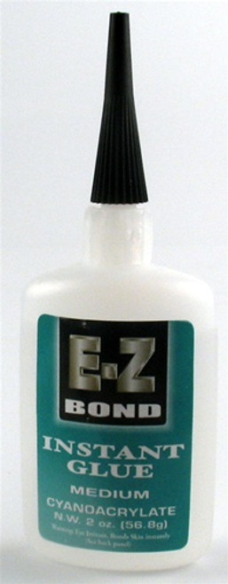 E-Z Bond Instant Glue Medium 2 oz.