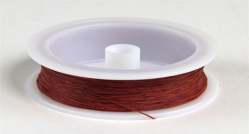 "Berkshire Junction EZ Line HO/N Elastic Polymer Simulated Telephone and Electric Line, Fine .010"" Diameter x 100' Long, Rust/Copper"