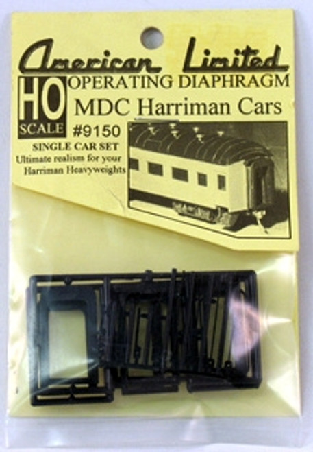 American Limited HO 9150 Operating Diaphragm for MDC Harriman Heavyweight Cars
