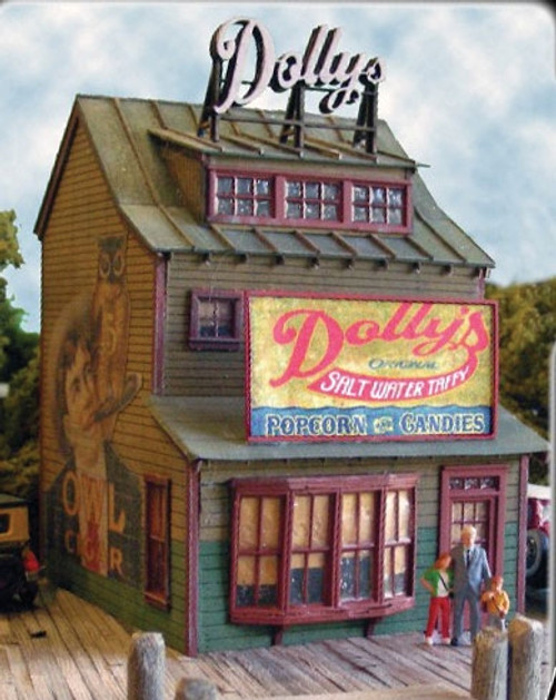 Bar Mills Scale Model Works HO 1240 Dolly's Confectionery Kit