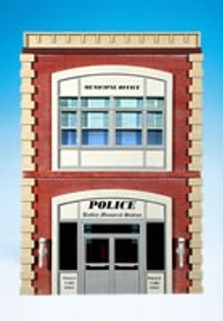 Ameri-Towne O 68 Police Station Building Front