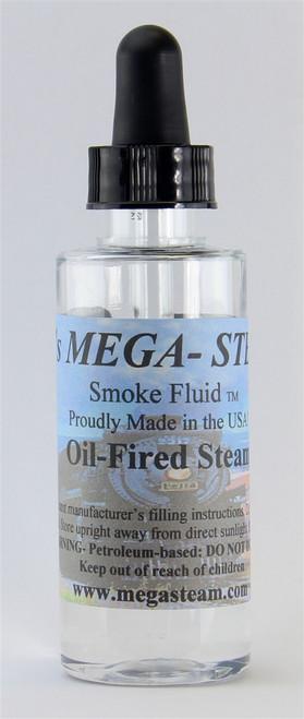 JT's Mega Steam O/HO OIL Smoke Fluid 2 Oz. Bottle, Oil Fired Steamer