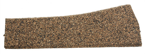 Itty Bitty Lines N 1341 Precut Cork Roadbed Section, Left Hand Turnout, Small and Medium Radius (2)
