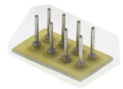Train Control Systems 1254 8-Pin Plug Circuit Board (1 piece)