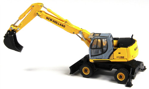 Herpa HO 006480 New Holland We170 Wheeled Excavator