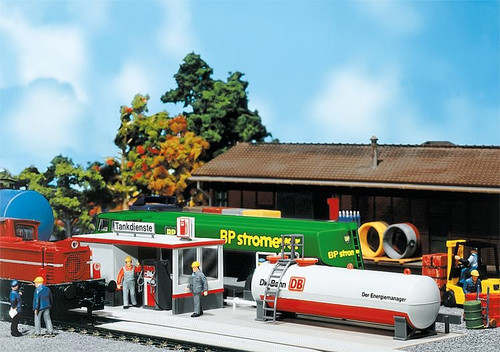 Faller HO 120196 German Railways Service Station Kit (d)