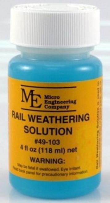 Micro Engineering 49-103 Rail Weathering Solution (4 fl. oz.)