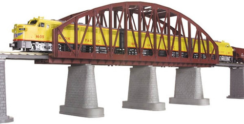 MTH O 40-1103 Rust Single Track Steel Arch Bridge