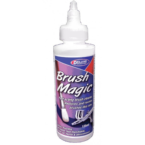 Deluxe Materials AC19 Brush Magic Brush Cleaning Solution (125ml)