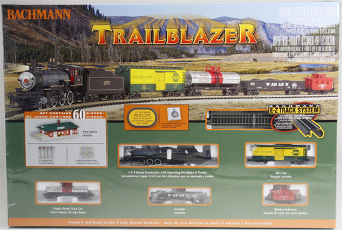 Bachmann N 24024 Trailblazer Electric Train Set with E-Z Track