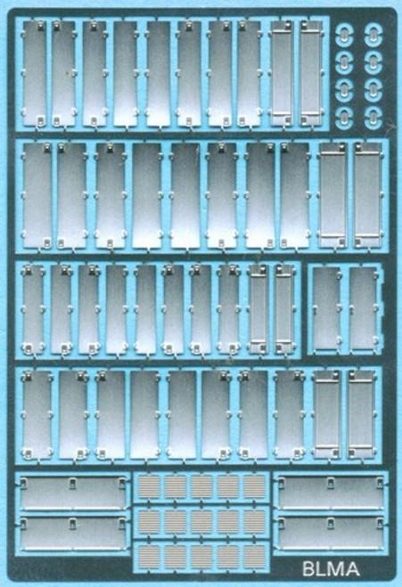 BLMA N 101 Diesel Locomotive Hood Doors