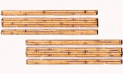 Blair Line HOn3 122 Laser-cut Two-Lane Narrow Gauge Wood Grade Crossing (2 sets)