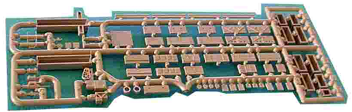 American Limited N 8050 Streamline Passenger Car Detail Set