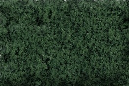 Scenic Express EX816C Flock and Turf Ground Cover, Dark Forest Green Coarse 64 oz.