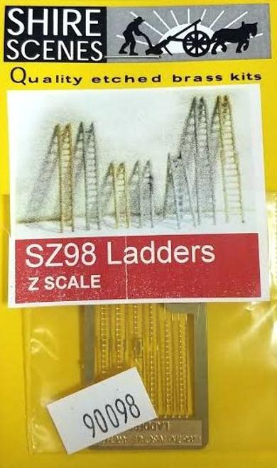 N Scale Architect Z 90098 Shire Scenes (SZ98) Ladders