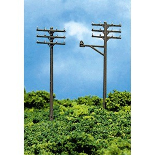 Atlas N 2801 Telephone Poles (12 pieces)