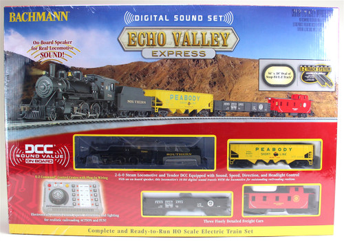 Bachmann HO 00825 Echo Valley Express Train Set, Southern Railway (Digital Sound Set)