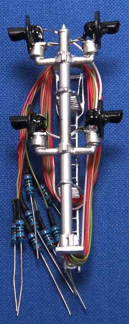 N.J. International HO 1362 SA Type 4-Target Bi-Directional Signal