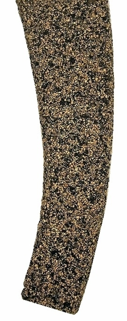Itty Bitty Lines N 1348 Precut Cork Roadbed Section, Left Hand #6 Curved Turnout (2)