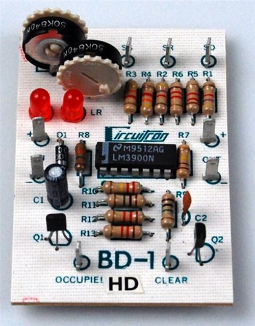 Circuitron 800-5501 BD-1 Opto-Electronic Block Occupancy Detector