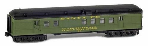 American Z Line Z 71928-1 Heavyweight Railway Post Office Car, Santa Fe #60