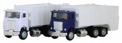 Herpa HO 006446 White Road Commander Garbage Truck
