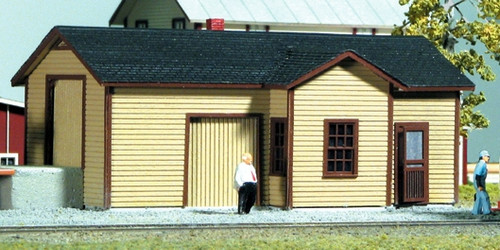 American Model Builders HO 177 Illinois Central Type A Depot Kit