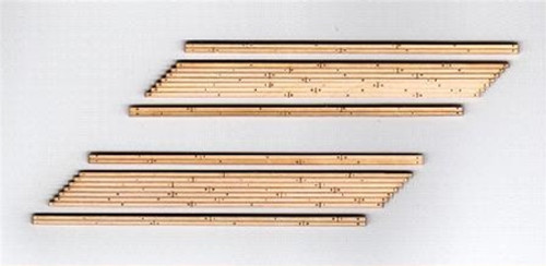 Blair Line HO 134 Laser-cut Two-Lane Right Angled Wood Grade Crossing (2 sets)