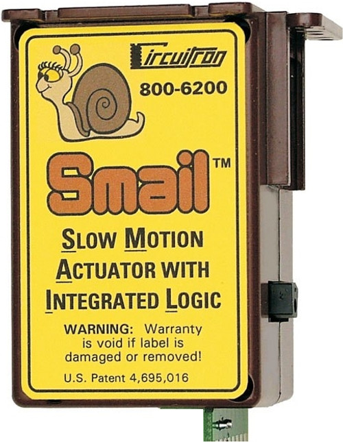"""Circuitron 800-6200 """"Smail"""" Slow Motion Actuator with Integrated Logic (DCC Decoder Equipped)"""
