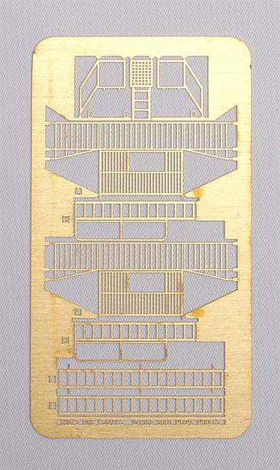 Gold Medal Models N 160-03 Standard Fire Escape Kit, Three Story Basic Set