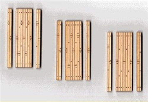 Blair Line HO 133 Laser-cut One-Lane Wood Grade Crossing (3 sets)