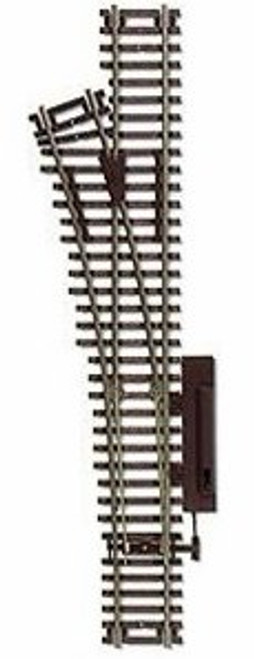 """Atlas HO 544 Code 83 22"""" Left Hand Manual Snap-Switch Track"""