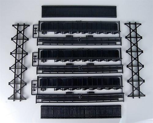 Central Valley Model Works HO 1904 72' Double Track Plate Girder Bridge Kit