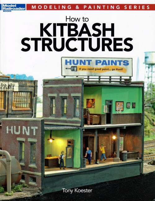 Kalmbach Publishing Softcover Book 12472 How to Kitbash Structures