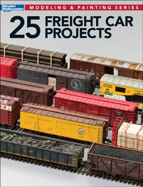 Kalmbach Publishing Softcover Book 12498 25 Freight Car Projects