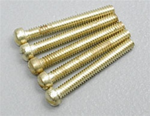 "Hob-Bits H824 Fillister Head Screws Size: 00-90 Length: 1/2"" (5-Pack)"
