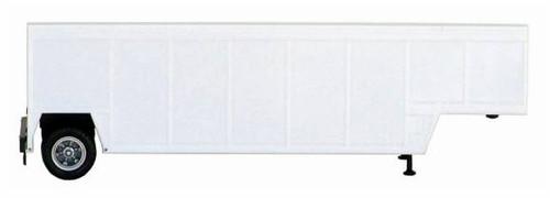Herpa HO 005330-W Beverage Trailer, White