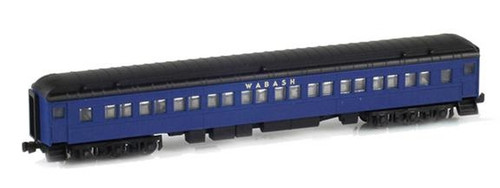 American Z Line Z 71711-0 Heavyweight Paired-Window Coach, Wabash Unnumbered