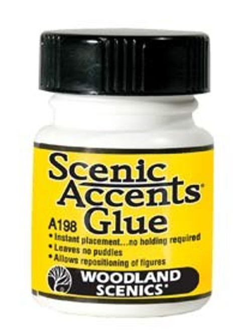 Woodland Scenics A198 Accent Glue, 1.25 oz