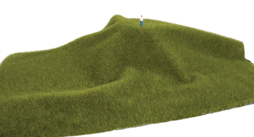 "Walthers SceneMaster 949-1121 Tear and Plant Grass Mat, Mossy Grass 3/8"" Thick"