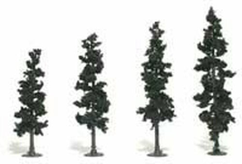 Woodland Scenics TR1105 Conifer Tree Kit, Woodland Scenics Medium (24)