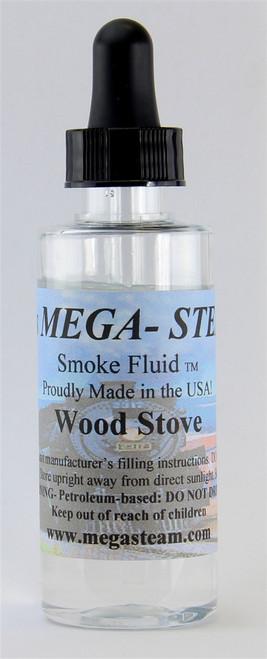 JT's Mega Steam O/HO WOOD STOVE Smoke Fluid 2 Oz. Bottle, Wood Stove