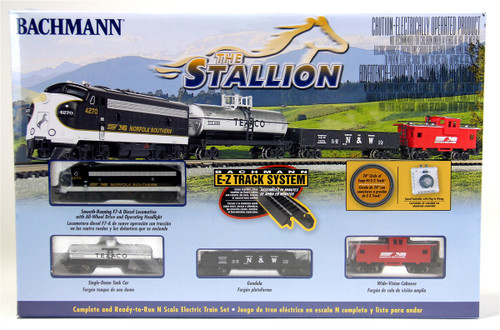 Bachmann N 24025 The Stallion Train Set, Norfolk Southern