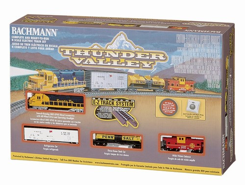 Bachmann N 24013 Thunder Valley Electric Train Set