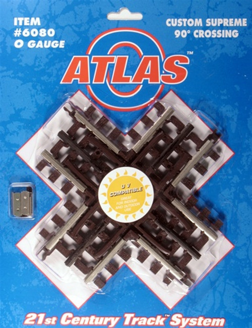 Atlas O 6080 90-Degree Track Crossing