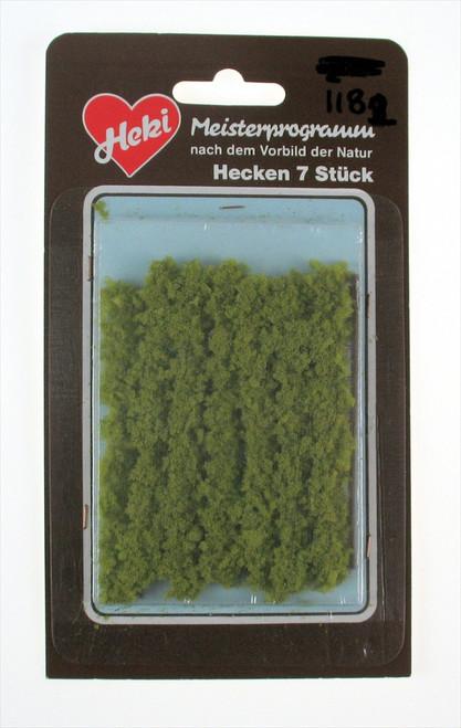 """Heki Trees and Shrubs 1182 Hedge Row Light Green (2"""")"""