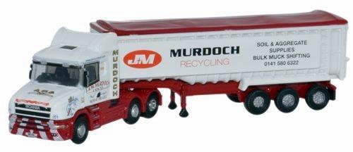 Oxford Diecast N NTCAB003 Scania T-Cab Tipper, J&M Murdoch