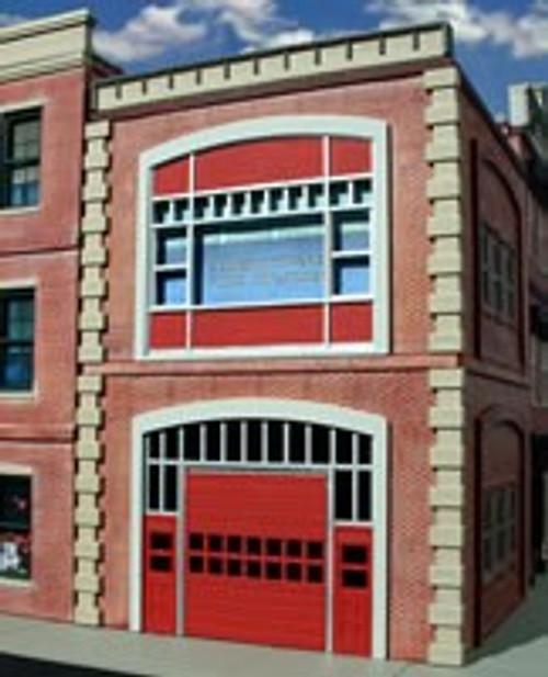 Ameri-Towne O 864 Fire Station Kit