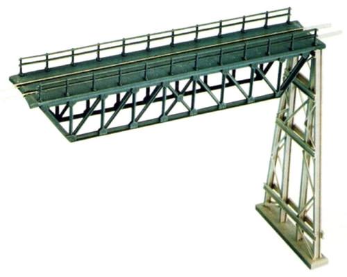 Ratio N 241 Steel Truss Span with Steel Trestle Kit